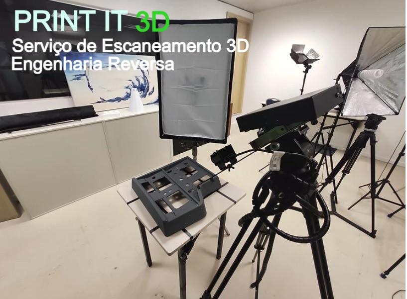 Scanner 3D na Print it 3D Industria