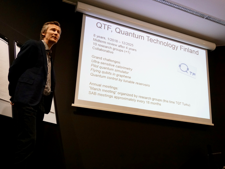 Centre of Excellence in Quantum Technology, QTF