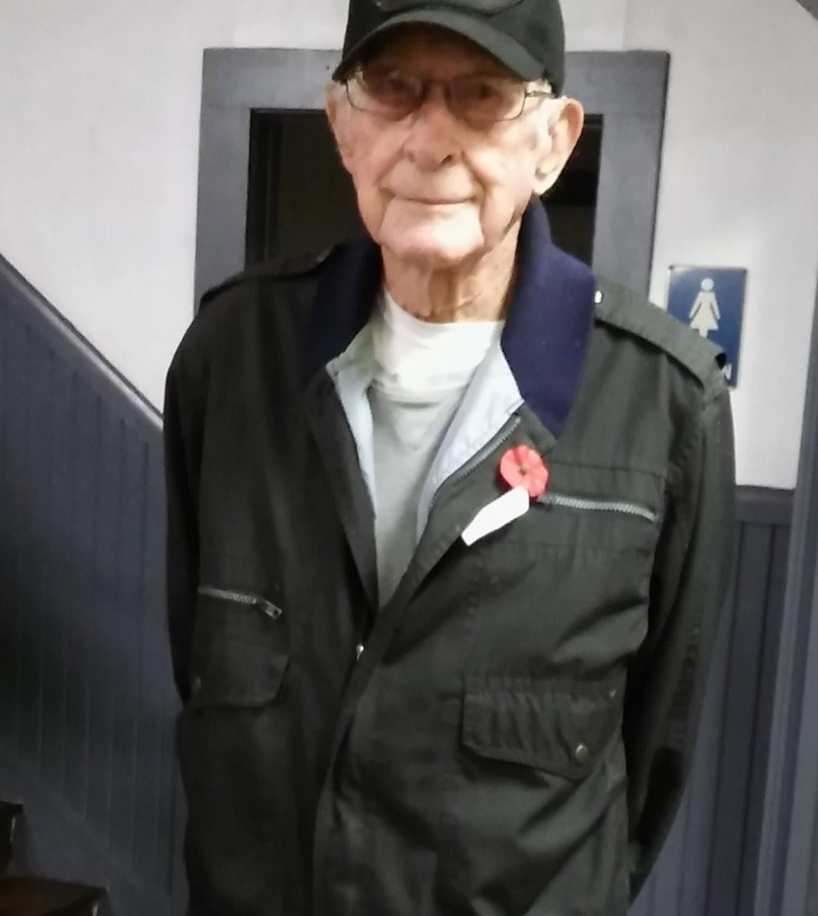 Mr. Bruce Lynn, WWII Veteran