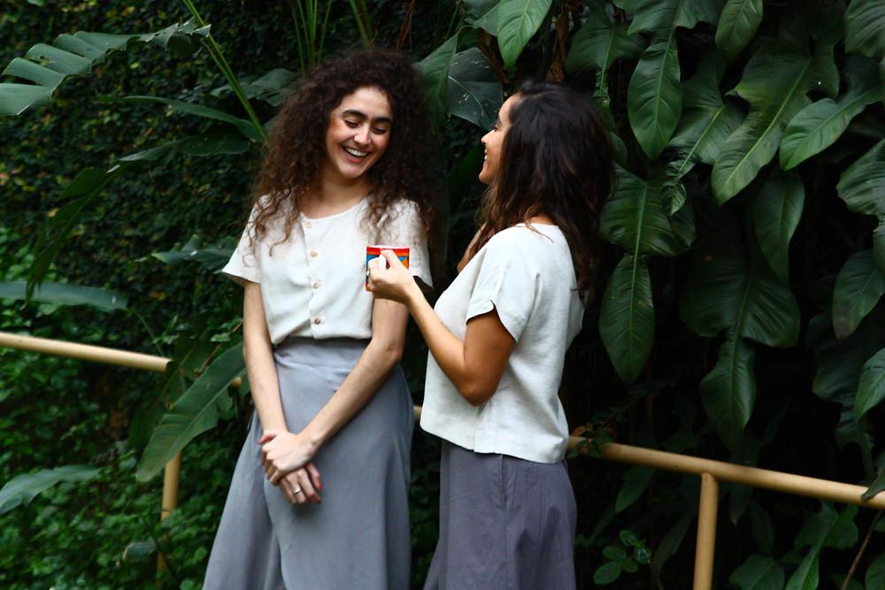 roupas Vibra marca brasileira de slow fashion