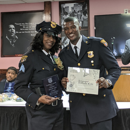 Sergeant Belinda Kyle March 2020 Member of the Month