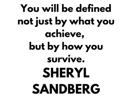✿ Wise advice by Sheryl Sandberg⁠
