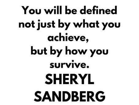 ✿ Wise advice by Sheryl Sandberg