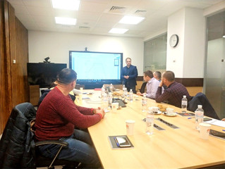 HUAWEI representatives held a corporate training for the VOLTAGE GROUP team