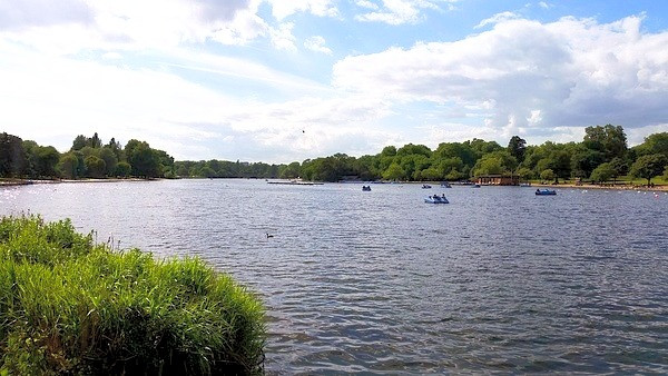 The Serpentine, Hyde Park London