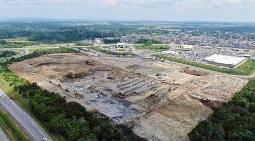 Construction begins for Amazon fulfillment centre in Ottawa. Ground has broken for the second Amazon fulfillment centre in Ottawa's booming neighbourhood Barrhaven..