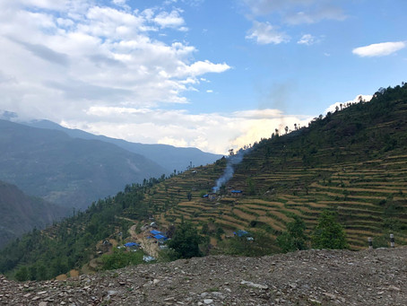 The Drive to Kalinchok