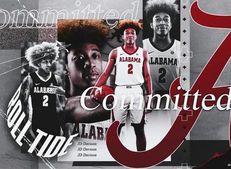 BREAKING: 2021 5-Star JD Davison Commits To Alabama