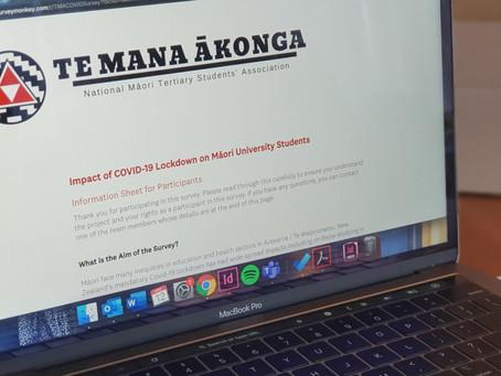 Opinion: Te Mana Ākonga student COVID-19 impact survey 3 weeks too late