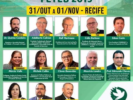 Recife sediará o Encontro Nacional das Comunidades Terapêuticas
