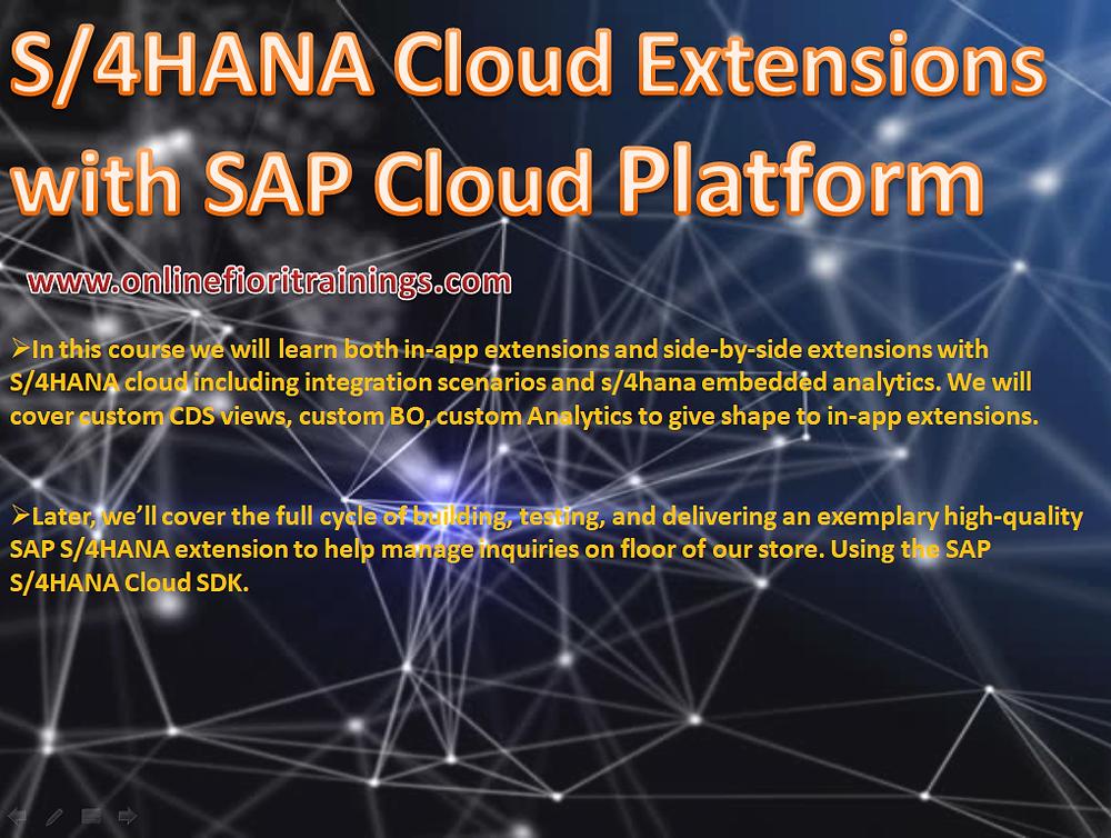 SAP S/4 Cloud Platform