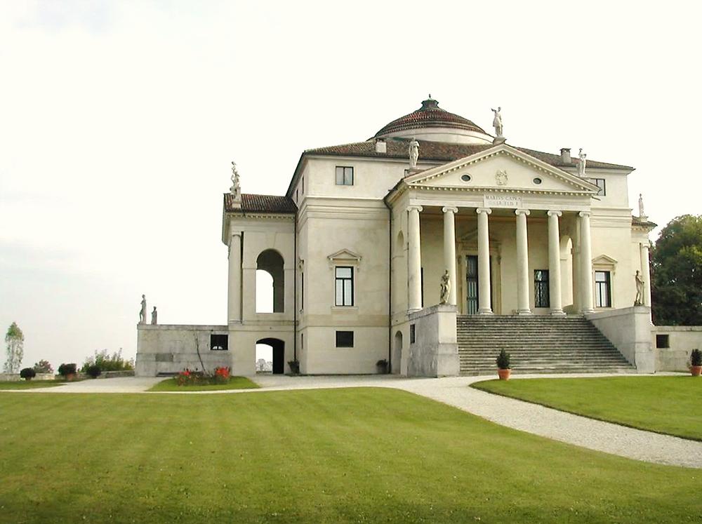 Villa Rotunda, Palladian architecture, Andrea palladio, gary paul, classical architecture, italian villa, classic farm house