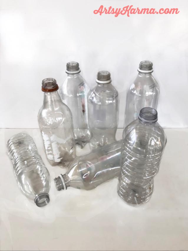 plastic bottles for crafting