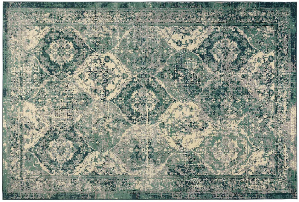 VONSBÄK Rug, low pile, green, 200x300 cm €99