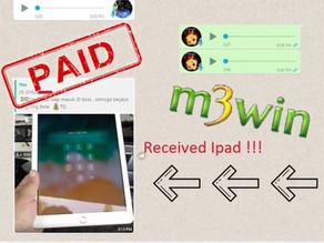 M3win Lucky Draw - Ipad Mini