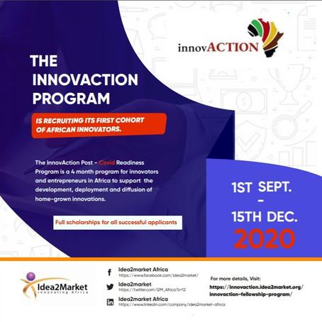 InnovACTION Fellowship Program for African Innovators