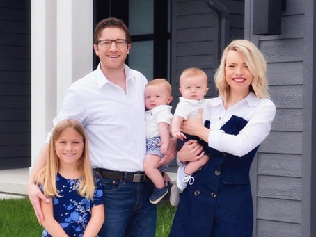 FAMILY CHALLENGE: The Christiansen family steps up to support Shenandoah Schools