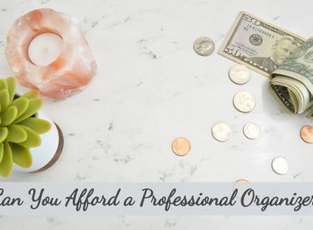 Can You Afford a Professional Organizer?