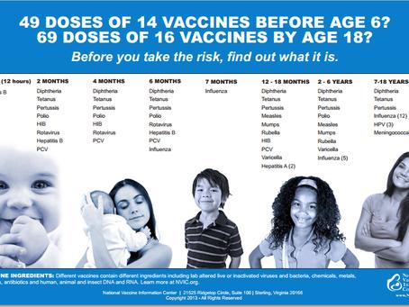 Mandatory vaccines. Always look at numbers