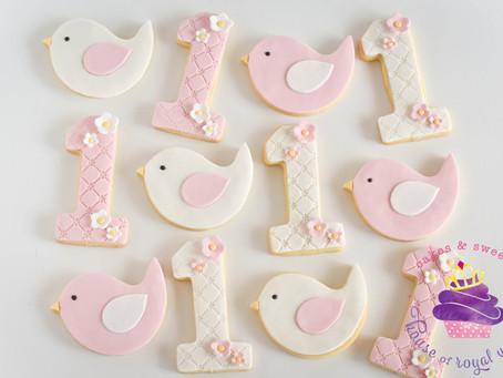 Bird Cookies