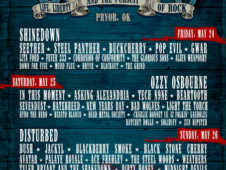 ROCKLAHOMA BAND LINEUP ANNOUNCED