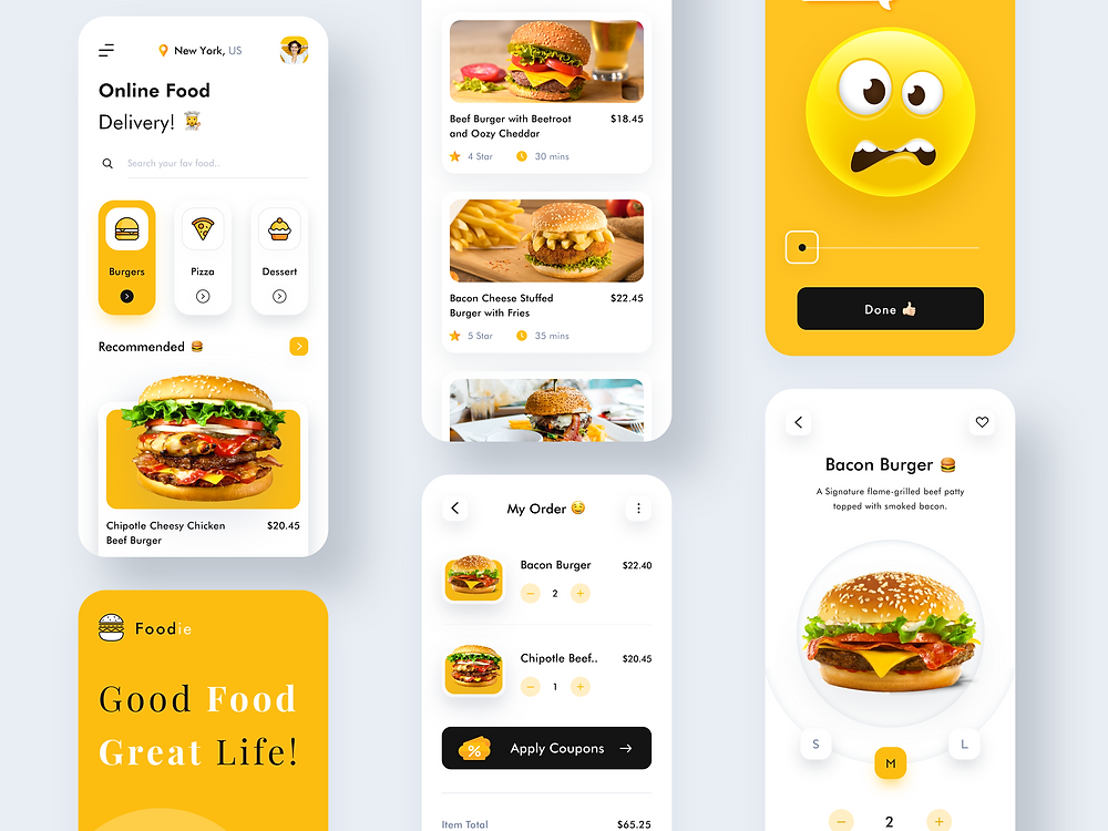 Foodie - Online Food Delivery App