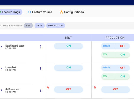 FeatureHub releases version 1.0.0 to support gradual percentage rollout and A/B testing