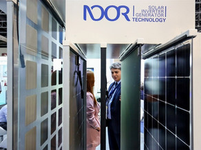 "Noor Solar Technology believes ""luxury"" panels are poised to transform regional building façades"