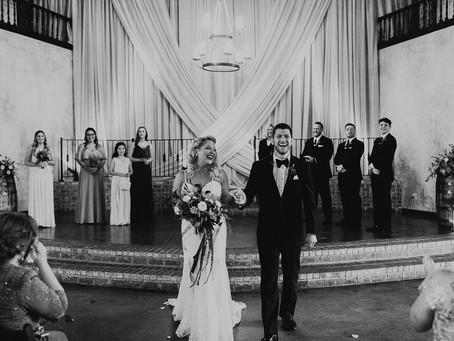 Tori + Chris' Glamorous Gothic Inspired South Carolina Wedding!