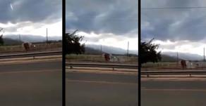 #Ruta9 Denuncian que Agricultores tiran bombas en las nubes para que no llueva