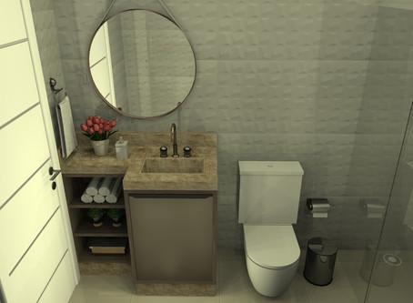 4 modelos de banheiro planejado para se inspirar