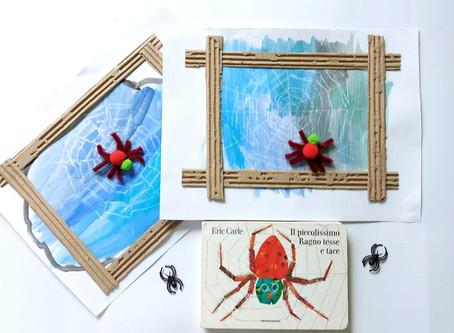 La tela del piccolissimo ragno