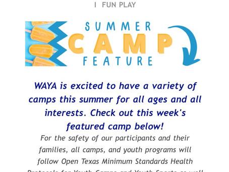 WAYA Summer Camp and More