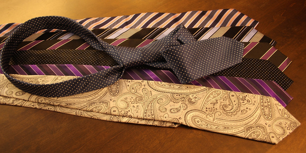 necktie ties paisley print colours fashion mens blog