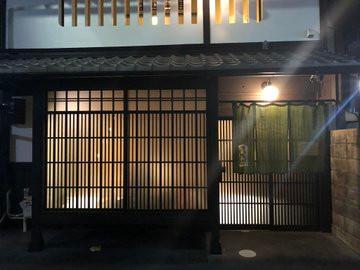 京都市長選告示日の夜