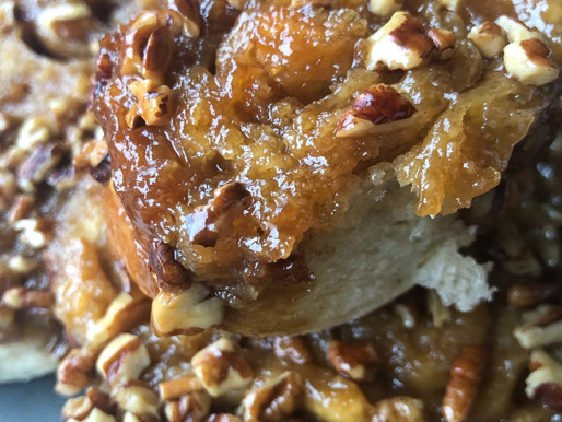 EASTER (OR ANYTIME) STICKY BUNS