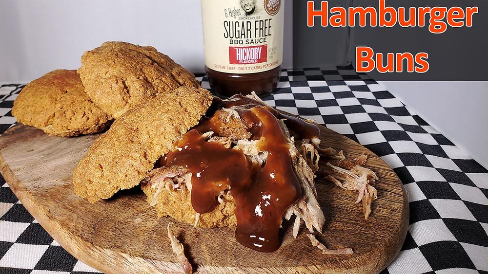 Keto Hamburger Bun Recipe