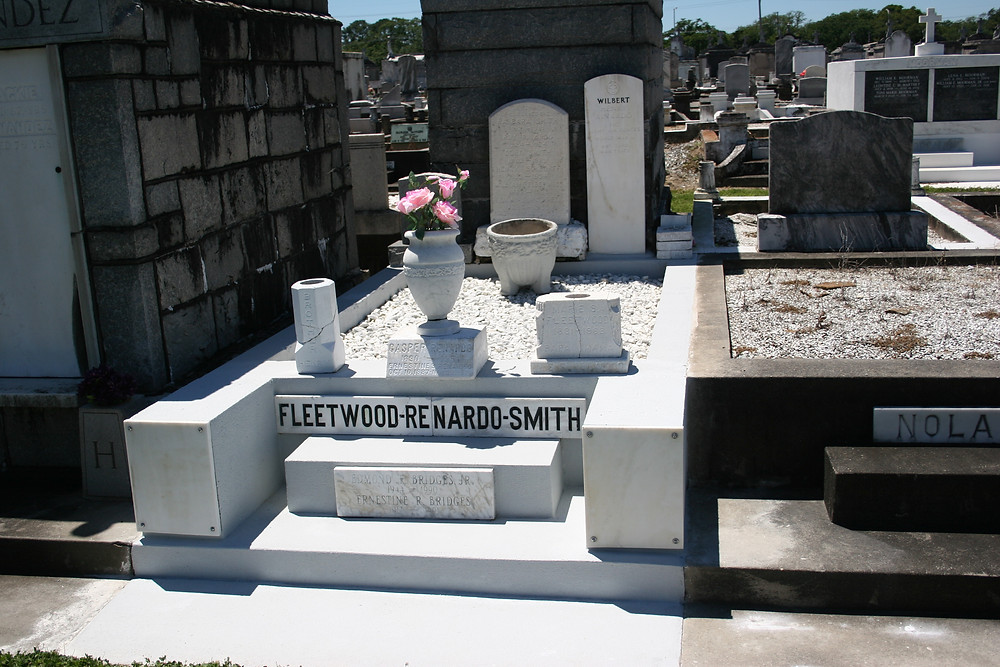 New Orleans cemetery restoration, tomb repair, cemetery repair, tomb restoration, grave cleaning painting renovation, headstone repair
