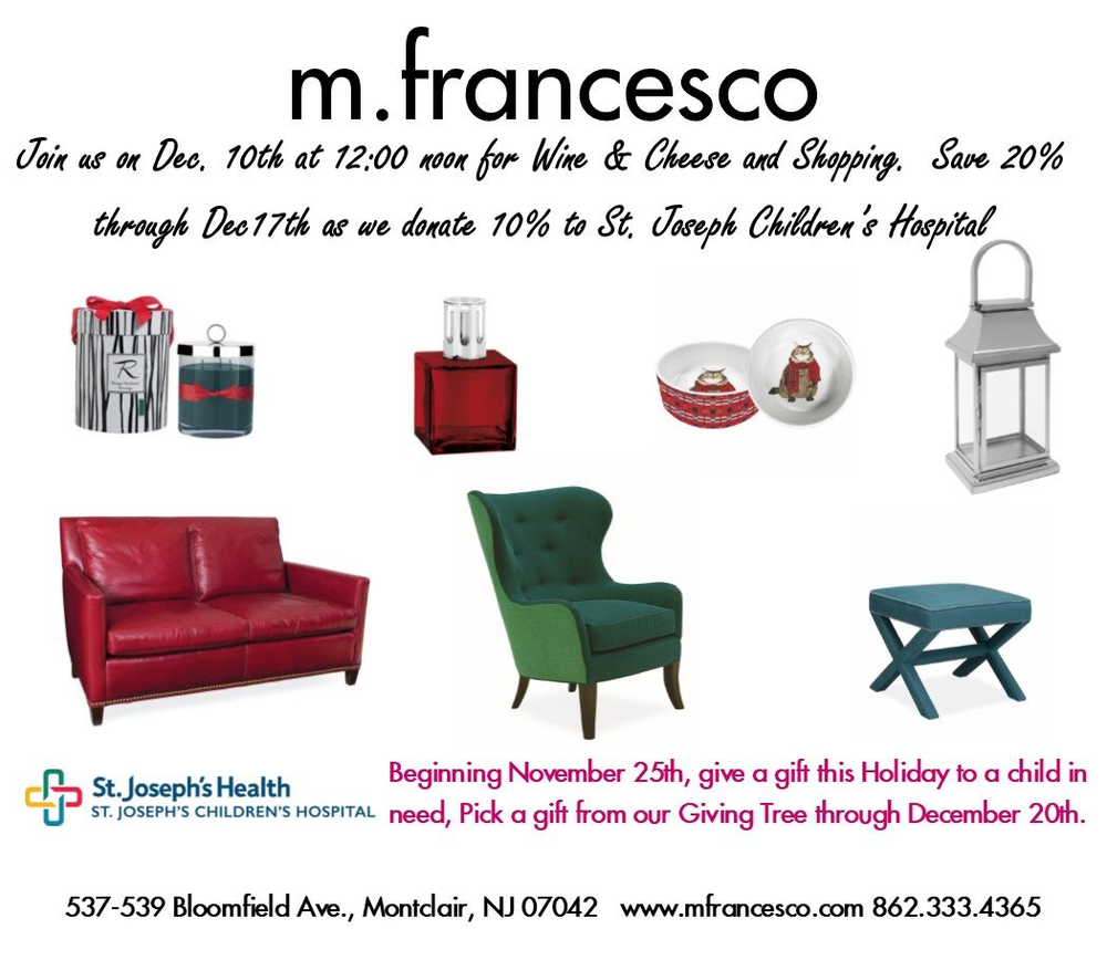 Gifts For Children In Need | Furniture Store | Montclair NJ | M.francesco