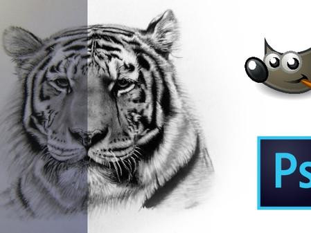 du möchtest ein richtig gutes Foto von deiner Zeichnung ? - der Bildbearbeitungskurs ist online !