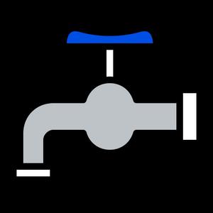 4443488 - faucet hygiene spigot valve water