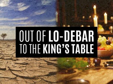 LO-DEBAR &THE MEPHIBOSHETH SYNDROME !
