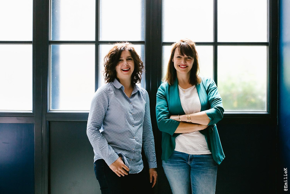 Anne et Céline de Nuances Factory