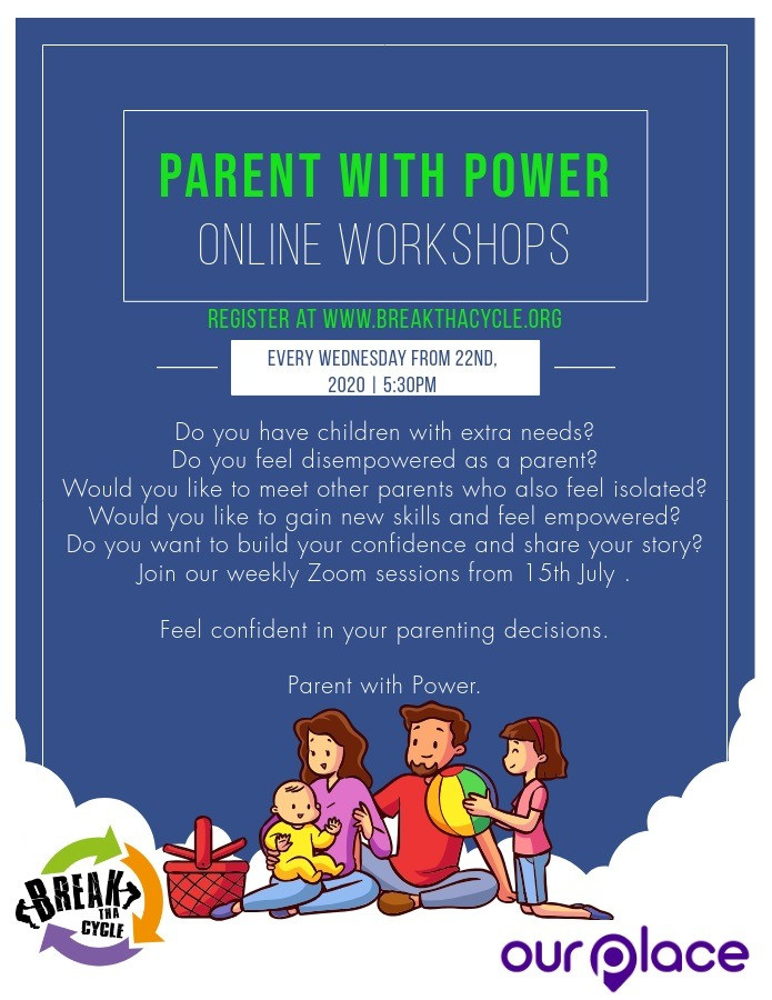 Online parenting workshop