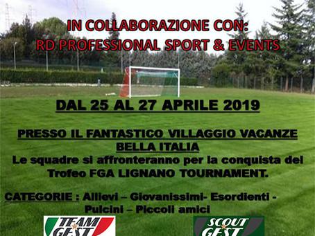 Special guest at Lignano FCA TOURNAMENT 2019