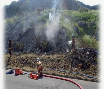 たき火等が原因となる火災にご注意ください。