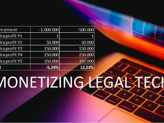 Can Legal Tech be monetized?