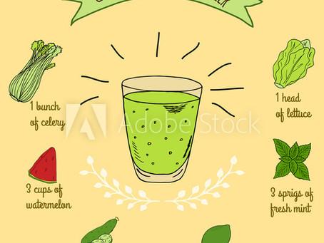 Green Watermelon Cooler
