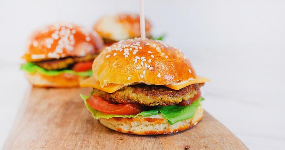 Recette facile burger végétarien