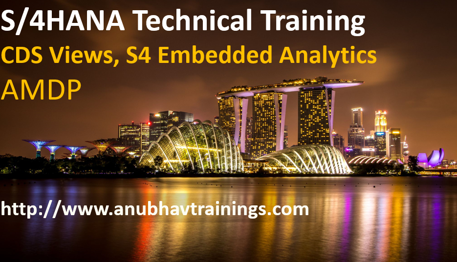 S/4HANA Technical Training